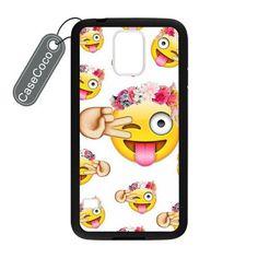 CASECOCO(TM) Emoji Custom Case Cover Skin Shield For Samsung Galaxy S5 Case Laser Technology CASECOCO http://www.amazon.com/dp/B00V9S7O3S/ref=cm_sw_r_pi_dp_O0bsvb0AR4R69