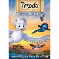 Christian cartoon Iesodo Believe for kids.