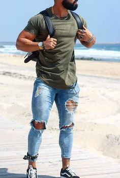 24 stylish casual summer outfits ideas for mens 24 Simple Casual Outfits, Cool Summer Outfits, Business Casual Outfits, Men Casual, Urban Street Style, Urban Fashion, Men's Fashion, Fashion Ideas, Style Masculin