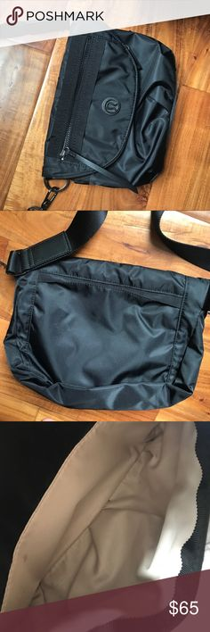 Lululemon Festival Bag Black festival bag with several pockets and an adjustable strap (can be worn crossbody, across the back or as a fanny pack). Used twice, excellent condition. lululemon athletica Bags Crossbody Bags