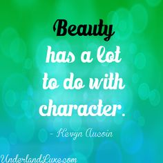 Kevyn Aucoin on Character