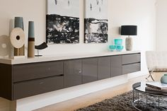 At Albedor, we're not just about kitchens and bathrooms. We supply quality doors and panels for stunning custom made built in furniture like this. Hmm, imagine the possibilities in your home. Built In Furniture, Dream Furniture, Make Build, Roller Doors, Melbourne House, Decorative Panels, Panel Doors, Beautiful Homes, Home And Garden
