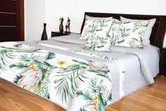 Prehozy na manželskú posteľ s kvetinami 3d, Furniture, Home Decor, Decoration Home, Room Decor, Home Furnishings, Home Interior Design, Home Decoration, Interior Design