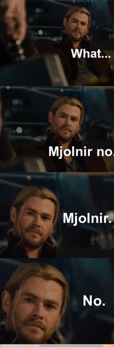 """""""You're loyal to THOR ONLY!"""""""