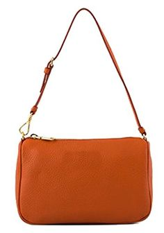 Generic Women's Winter Leisure Orange Leather Handbag Small * Want additional info? Click on the image.