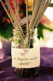 """Love begins with a spark"" Awww"