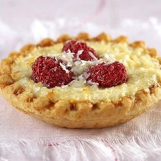 Raspberry & Coconut Cheesecake Tartlets