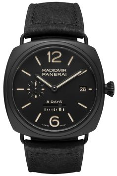 Radiomir 8 Days Ceramica - 45mm PAM00384 - Collection Radiomir - Officine Panerai Watches