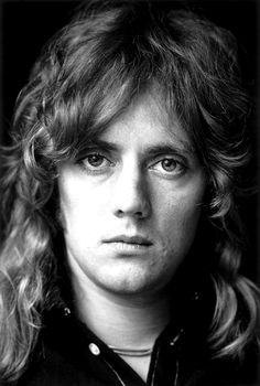 So beautiful he is here. Roger Taylor of Queen