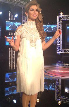 #HalimaBoland by #JoeRaad in #HalimaBond006 #TV #Show on #rotana_music & #LBCSAT 01am #Beirut #time #Ramadan #July #Retro #Hairstyle #Fashion #Fashionista #Trendy #elegance #elegant