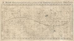 Antique Celestial Map (1810) -  Archival Reproduction - Star Chart - Star Map - Constellation Map
