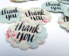 Vintage Map Thank You Stickers package of 20 by KisforCalligraphy