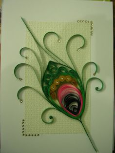 quilled feather