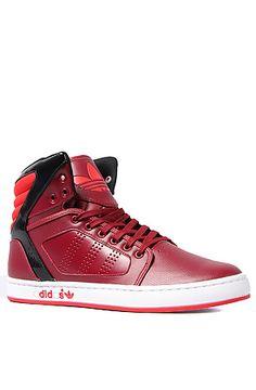 size 40 7f4a9 e3e6d The Adi High EXT Sneaker in Cardinal, Vivid Red,   Black