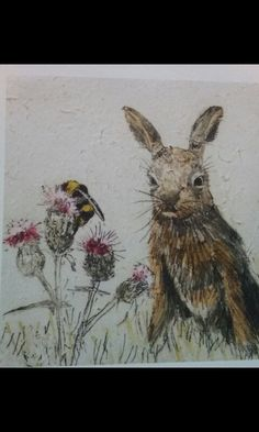 Leveret Mini print from the Wildlife collection by Annabel Langrish. Mini print, 23 x comes on a mount ready for you to frame.Leveret is available as one of set of four wildlife cards which includes a Barn Owl, a Hare, Leveret and FoxLeveret . Chinese Star Signs, Bunny Painting, Gallery Website, Pastel, Cartoon Sketches, Rabbit Art, Bunny Art, Wildlife Nature, Gravure