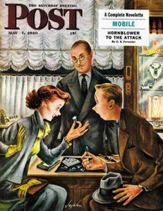 1949-05-07: Engagement Ring (Constantin Alajalov) Saturday Evening Post