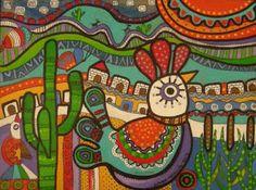 Resultado de imagen para pinturas cactus