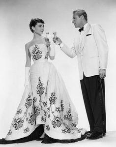 Sabrina {Audrey Hepburn and William Holden}
