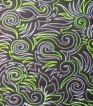 Good pattern for use of variegated thread Longarm Quilting Classes quilt frog.com