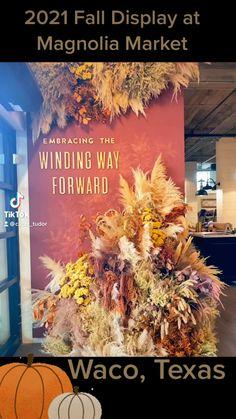 Magnolia Market, Magnolia Homes, Waco Tx, Autumn Display, Store Displays, Marketing, Fixer Upper, Fall, Bungalow
