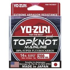 Yo-Zuri TopKnot Fluorocarbon Line -