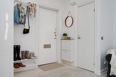 my scandinavian home: Clever use of a small space in Sweden