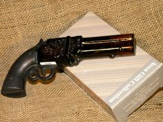 SOLD Vintage Avon Volcanic Repeater Pistol Decanter