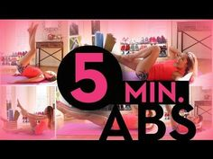 1 min each. Let's get your flat abs! This is a super short but intense abdominal workout. Comment below with your favorite move! Abs And Obliques Workout, 5 Minute Abs Workout, Abs Workout Video, Best Ab Workout, Pop Pilates, Pilates Video, Abdominal Exercises, Abdominal Workout, Chest Exercises