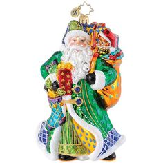 Image Detail for - Christopher Radko Christmas Ornaments | Radko Belle Court Blue ...
