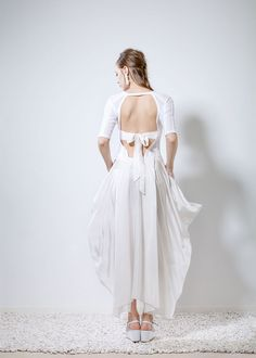 Ioanna Kourbela - 2016 Lookbook - XAMAM - Philosophy to Wear Spring 2016, Backless, Silk, Philosophy, Fabric, Composition, How To Wear, Collection, Dresses