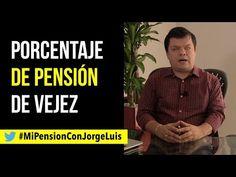 Porcentaje de Pensión de Vejez por el abogado Jorge Luis Quintero Gómez - YouTube Broadway, Old Age, Lawyers, Souvenirs