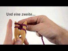 ▶ Hölzernes & anderes Die Strickgabel - YouTube