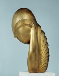 Constantin Brancusi - Signorina Pogany III (1933)                                                                                                                                                                                 More