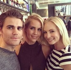 Candice Accola / Paul Wesley / Claire Holt