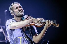Record-breaking German pop and crossover violinist and recording artist David Garrett (Born David Christian Bongartz) performs live at Teatro Degli Arcimboldi in Milan, Sept 2, 2015.