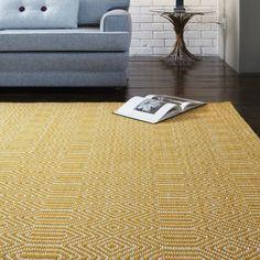 Sloan rugs in mustard buy online from the rug seller uk