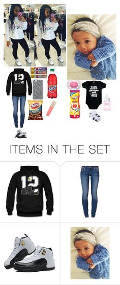 """""""ME AND BABY PAYTON~ZYON"""" by boss-fleek ❤ liked on Polyvore featuring art"""