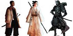 Star Wars the last Samurai
