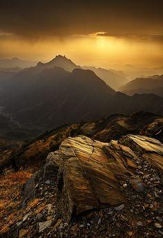Golden Sunset !! by almalki abdullrahman on 500px