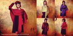 Collection Purna 2014 - Châles Purna - Magnifiques et tellement pratiques