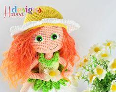 PATRÓN Daisy muñeca por HavvaDesigns en Etsy