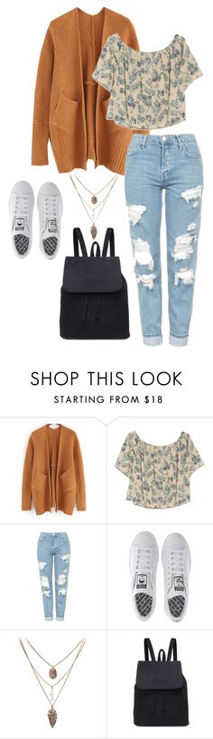 """casuhope.0.22"" by joannachavez8 on Polyvore featuring OTTE, Topshop and adidas"