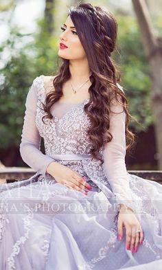 Lovely Girl Image, Cute Girl Photo, Gorgeous Girl, Beautiful, Pakistani Wedding Outfits, Pakistani Dresses, Walima Dress, Bridal Makeover, Maxi Styles