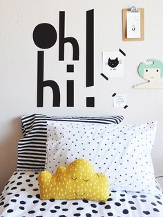 Oh Hi! - WALL DECAL