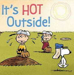 Too hot!