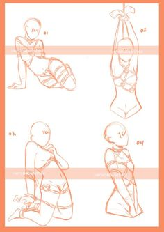 shibari ych set 2 OPEN PRICE LOWERED by veronabeaches