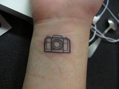 24 Magical Camera Tattoo Designs----I LOVE THIS ONE!!!!!!!!!! ~~Aims~~