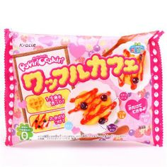 Japanese Candy Kits. These are really fun to make and taste pretty good. The Popin Cookin kits lets you make gummy candies that look like miniature food. There are also lots of other ones that do different things. This waffle one has been my favorite so far.