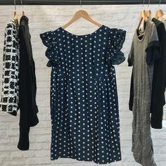 Spotted while shopping on Poshmark: Polka Dot Dolly Chambray Dress! #poshmark #fashion #shopping #style #Karen Walker #Dresses & Skirts