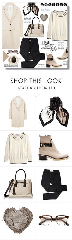 """""""Hijab"""" by sans-moderation ❤ liked on Polyvore featuring MANGO, Chanel, H&M, Nicholas Kirkwood, ALDO, Winter, hijab and winterstyle"""